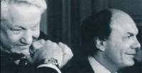 Mondadori wśród wielkich tego świata: z prezydentem Rosji, Jelcynem