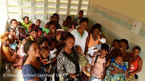 Por una maternidad sin riesgo en el Congo Democrático