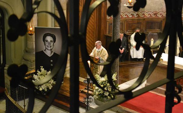 Missa d'acció de gràcies per la beatificació de Guadalupe a Barcelona