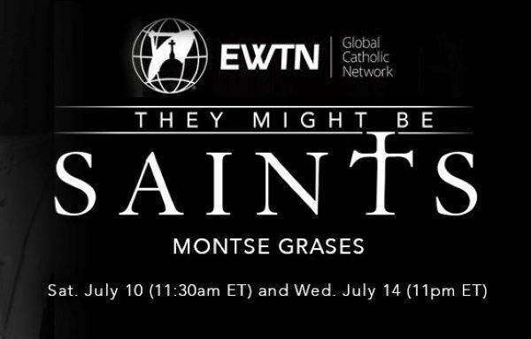 """Opus Dei - Montse on EWTN's """"They Might Be Saints"""""""