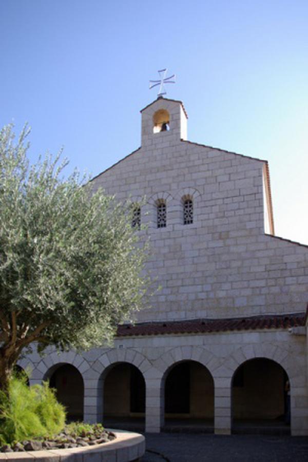 Tabgha, die Kirche der Brotvermehrung
