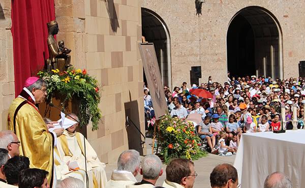 """Opus Dei - Abat de Montserrat: """"El secret de la vida del beat Àlvar fou la pregària"""""""