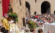 """Abat de Montserrat: """"El secret de la vida del beat Àlvar fou la pregària"""""""