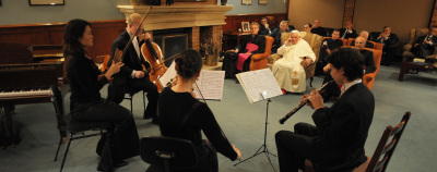 Concert joué pour le pape avant que ne débutent les JMJ