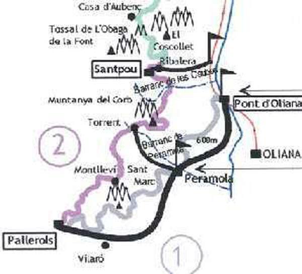Der Weg über die Pyrenäen