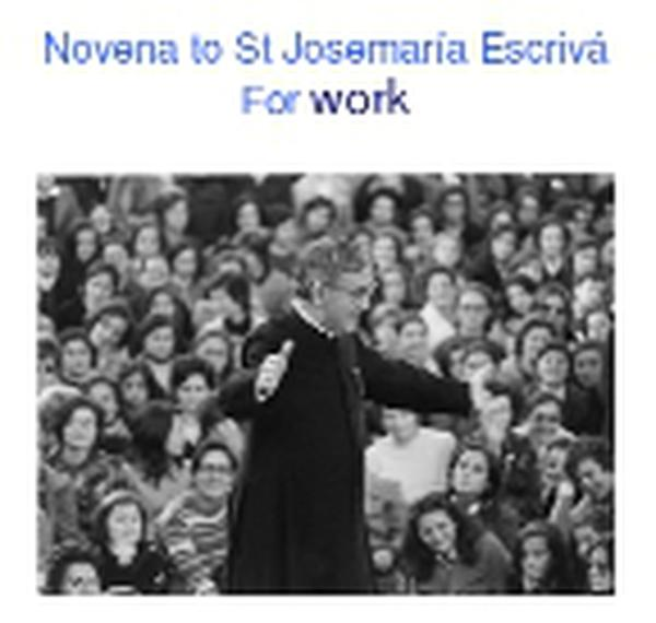 special-novenas-for-saint-josemaria27s-intercession