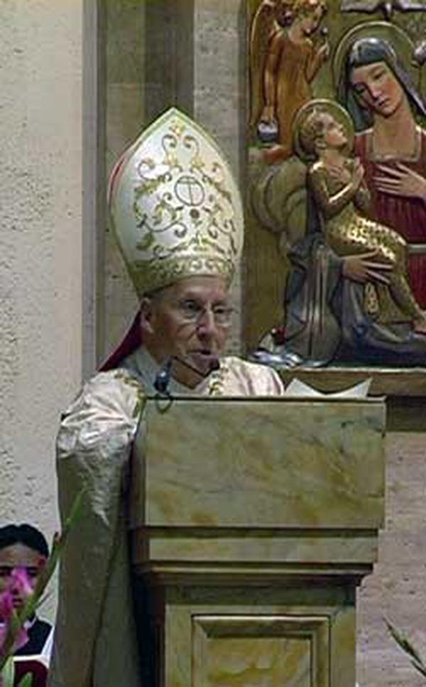 Mgr Xavier Echevarria, Prélat de l'Opus Dei. Rome, 26 juin 2008