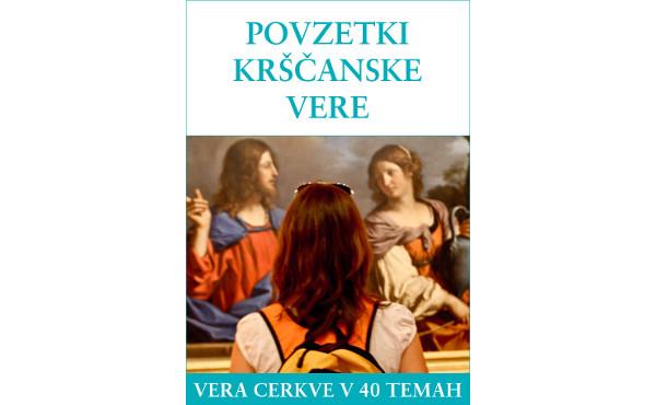 """Opus Dei - """"Povzetki krščanske vere"""", brezplačna e-knjiga v formatu ePub, Mobi in PDF"""