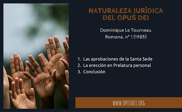 Naturaleza jurídica del Opus Dei
