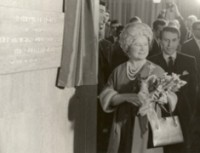 The Queen Mother opened the new Netherhall and Lakefield buildings in November 1966