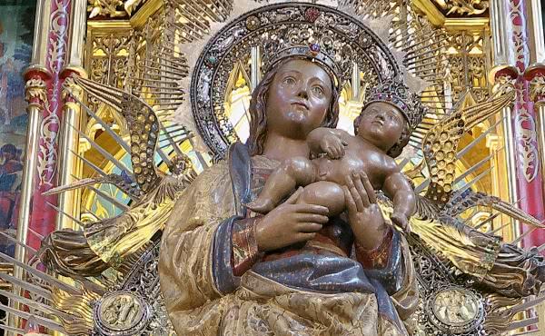 Opus Dei - S. Josemaria e a Virgem da Almudena
