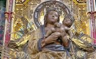 S. Josemaria e a Virgem da Almudena