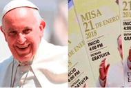 Misa del Papa Francisco en base Las Palmas contará con 17 accesos