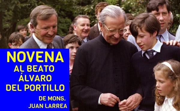 Novena al beato Álvaro del Portillo, obispo, prelado del Opus Dei
