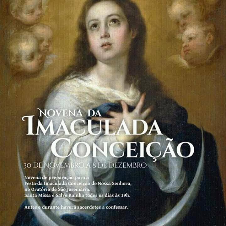 Opus Dei - Novena da Imaculada Conceição no Oratório de S. Josemaria (Lisboa)