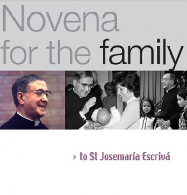 Devetnica za obitelj svetom Josemariji