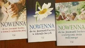 Ukazały się drukiem trzy nowenny do św. Josemarii