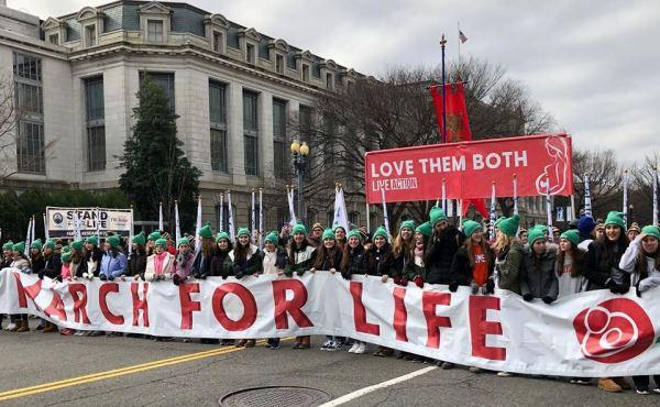 """I march to show that pro-life is pro-women"""