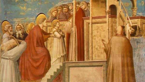 Život Panny Márie (III): Obetovanie Panny Márie