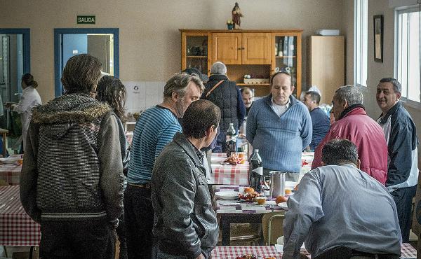 Comedor y albergue social en Vallecas