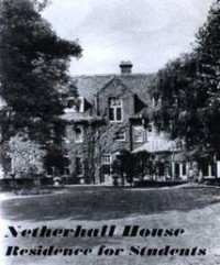 An early leaflet of Netherhall House