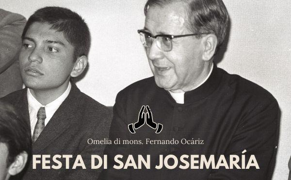Opus Dei - 26 giugno 2020: omelia di mons. Fernando Ocaríz