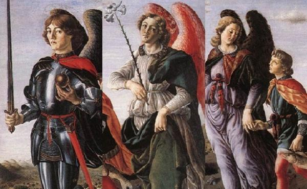 Opus Dei - Los arcángeles Miguel, Gabriel y Rafael