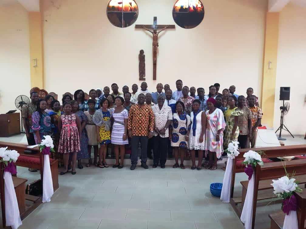 La photo de famille de nos amis togolais
