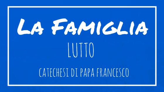 La famiglia 19 lutto opus dei for Frasi di conforto per lutto