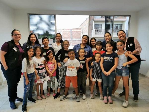 Taller estratégico con Conectados Colombia y niños de la fundación
