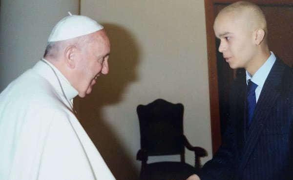 Nel novembre del 2015 aveva potuto salutare Papa Francesco.