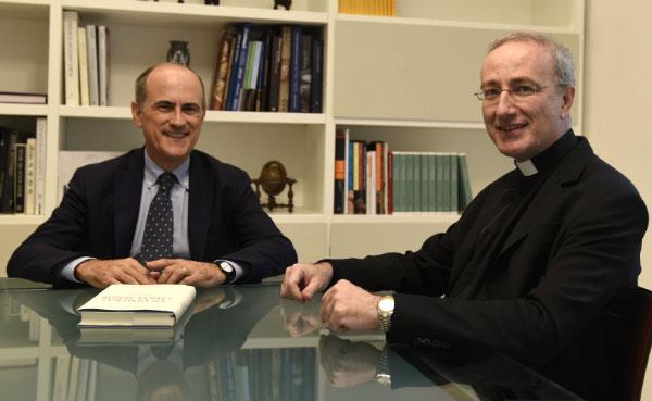 Luis Cano y Francesc Castells coautores del libro.