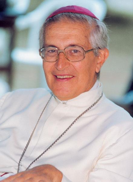 Mons. Juan Larrea, en sus últimos años como obispo de Guayaquil.