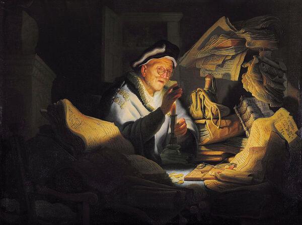 Rembrandt, Public domain, via Wikimedia Commons