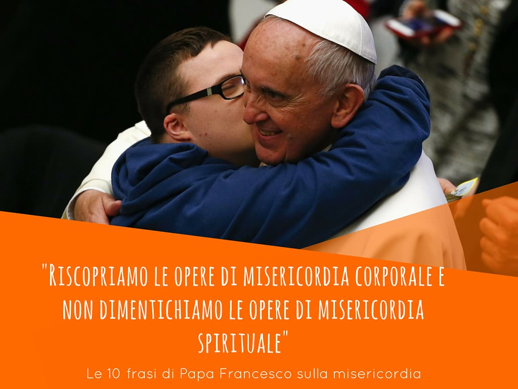Favoloso 10 frasi di Papa Francesco sulla misericordia - Opus Dei QF11