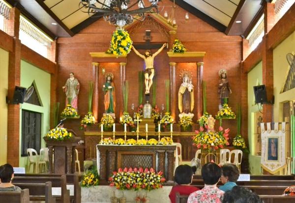 June 26. St. Josemaria Escriva Mission Station, Brgy. Apitong, Tacloban City. Bishop Filomeno Bactol (Emeritus of Naval)