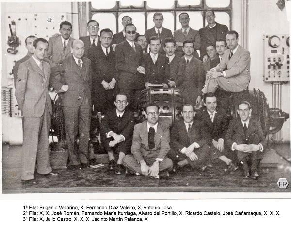 Álvaro del Portillo en la Escuela de Ingenieros de Caminos, Canales y Puertos
