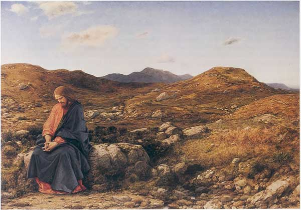 """Man of Sorrows"", William Dyce."