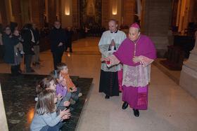 Eucharistische aanbidding aan begin Maria-jaar