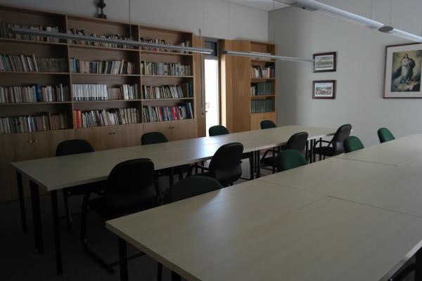 Sala de estudo da Residência