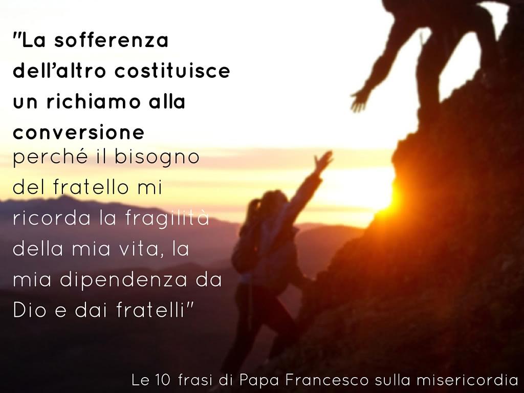 Molto 10 frasi di Papa Francesco sulla misericordia - Opus Dei VP14