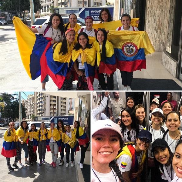 Grupo de Voluntarias en su primera jornada en Panamá