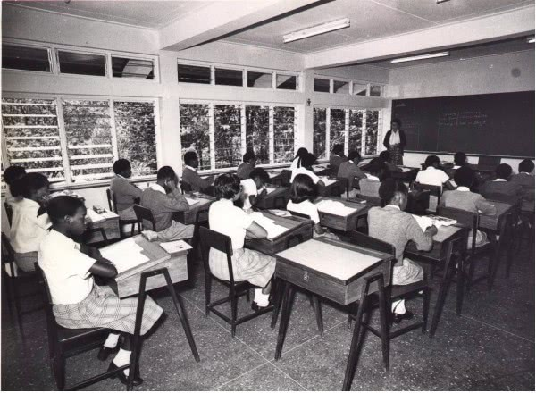A class in session in 1978