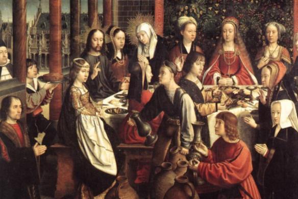 Wedding Feast At Cana.Life Of Mary Xiv Wedding Feast At Cana Opus Dei