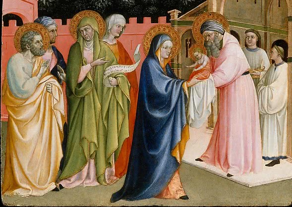 Life Of Mary Viii Jesus Presentation In The Temple Opus Dei