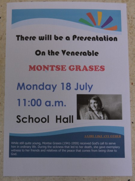 Poster for the presentation