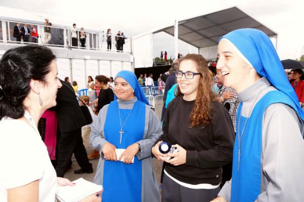 Sor María de la Salud pertenece a las religiosas del Verbo Encarnado. Foto: Pablo Pérez-Tomé