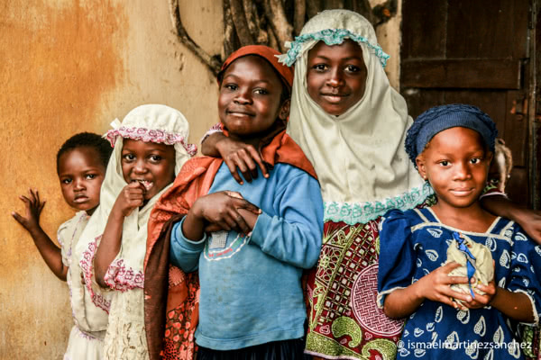 Niños de la madraza en Lomé (Togo).