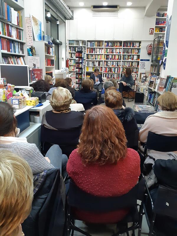 Presentació a la llibreria Empúries de Girona