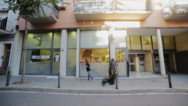 La sede actual del estudio de danza Santa Cecília, en L'Hospitalet de Llobregat.